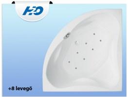 H2O 8 levegő fúvókás Masszázsrendszer