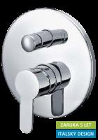 Hopa Garda 10020054401 falbaépíthető zuhany és kád csaptelep