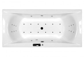 M-Acryl Wellness Premium Plus 28 fúvókás elektronikus masszázsrendszer