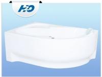 H2O Fortuna Aszimmetrikus kád 160 x 100 cm